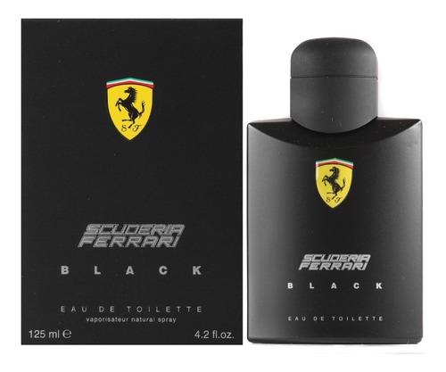 perfume ferrari black edt 100ml masculino - original