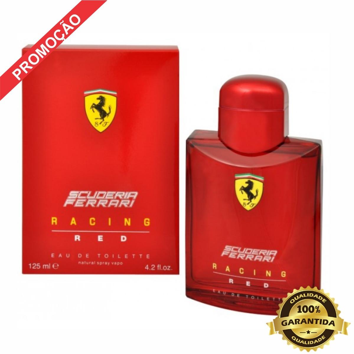 6563c28228 perfume ferrari racing red - eau de toilette 125ml original. Carregando  zoom.