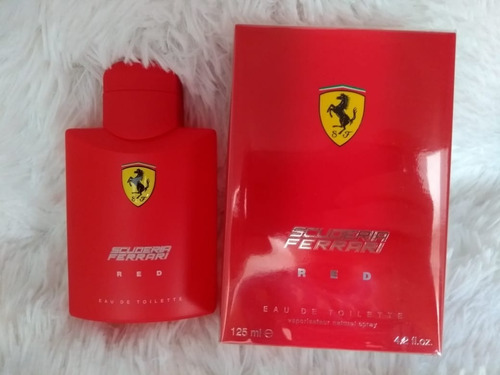 perfume ferrari red 125ml