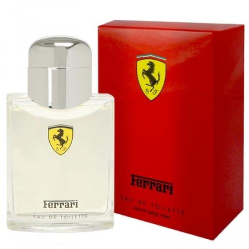 perfume ferrari red 125ml- original e lacrado envio imediato
