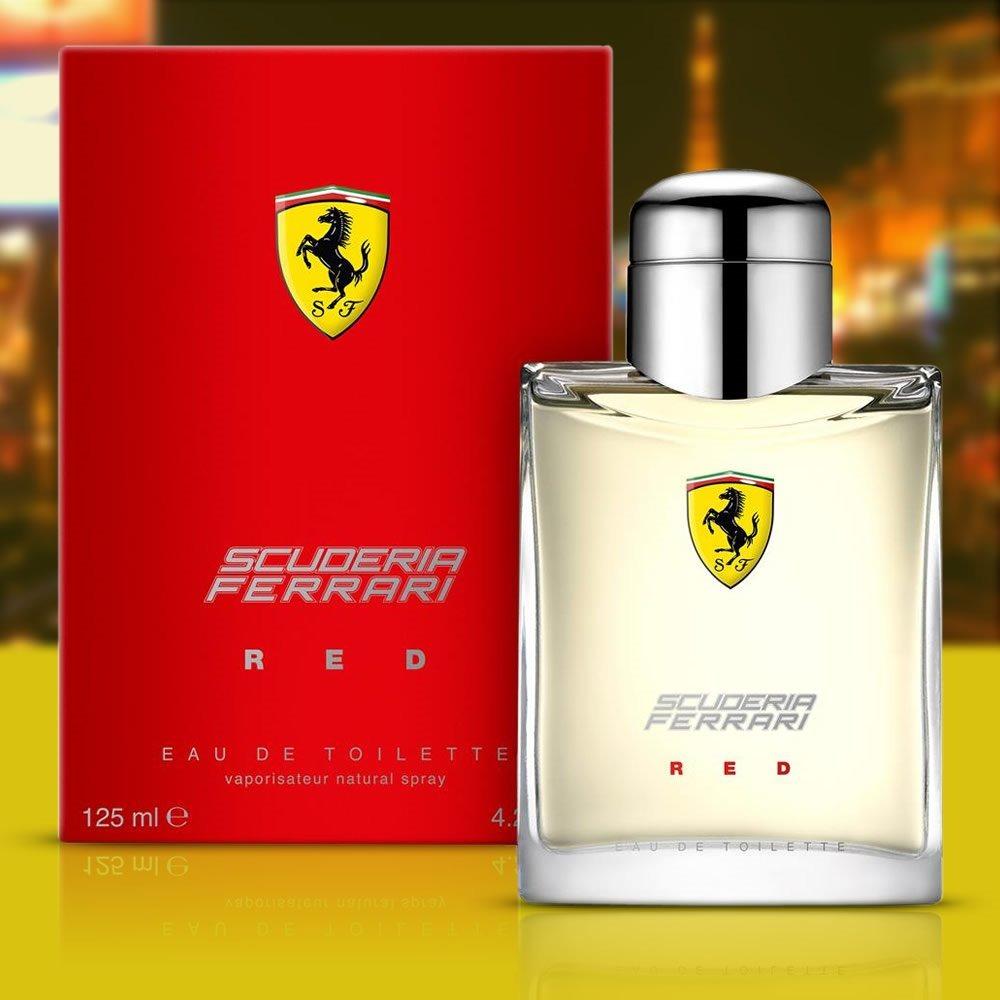 e5c97a75a perfume ferrari red 125ml- original e lacrado envio imediato. Carregando  zoom.