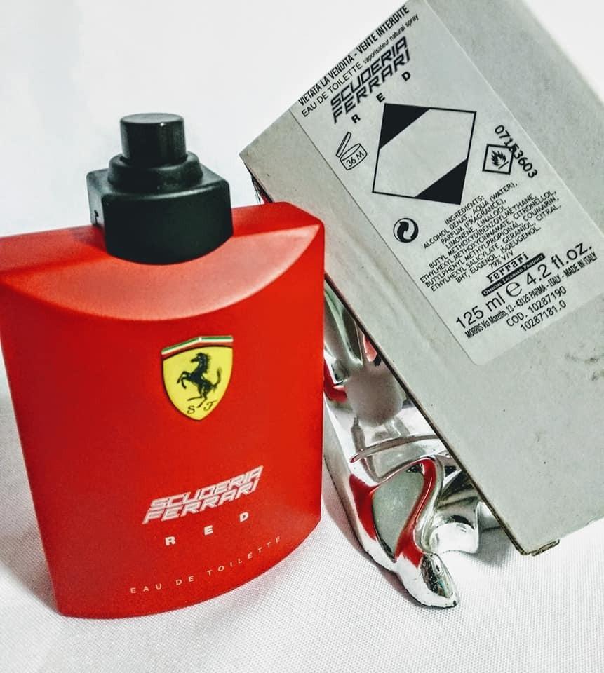a8aca9cd2 perfume ferrari red 125ml original ( tester) pronta entrega. Carregando zoom .