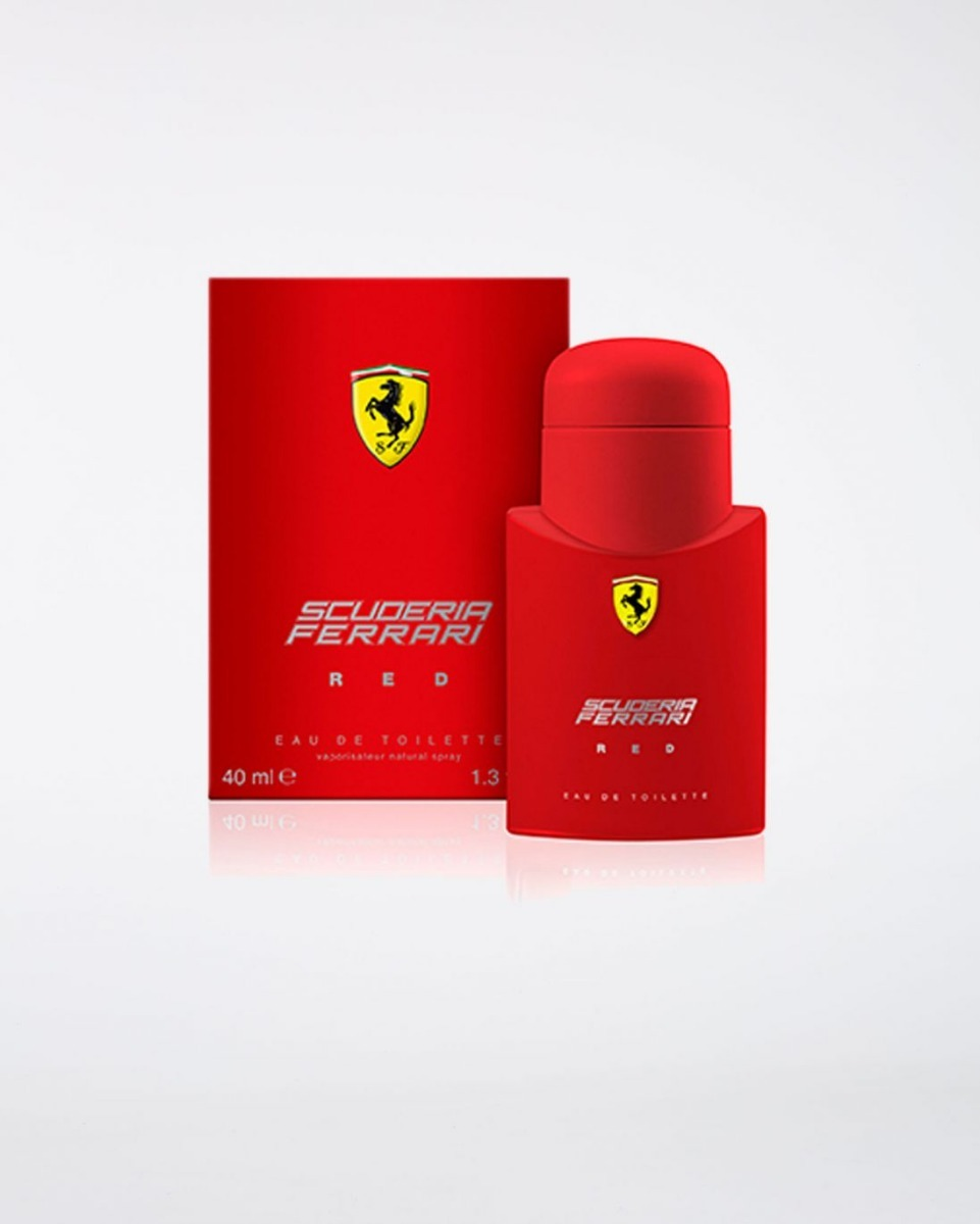 0881aa745 Perfume Ferrari Red Original 125ml Masculino - R  180