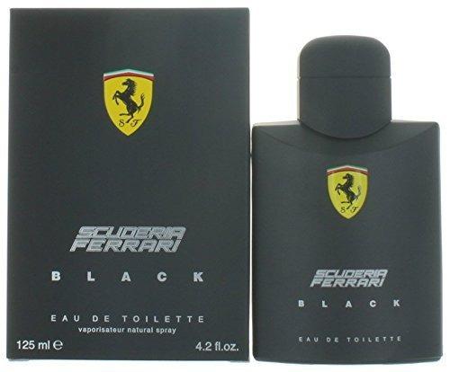perfume ferrari scuderia  black/red 125ml original sellado