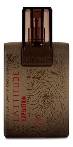 perfume fragrância lattitude expedition masculino 100ml