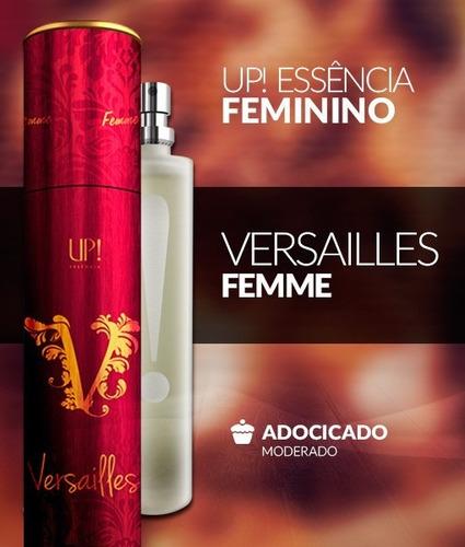 perfume francês com 22% de essência e 0% de aguá.