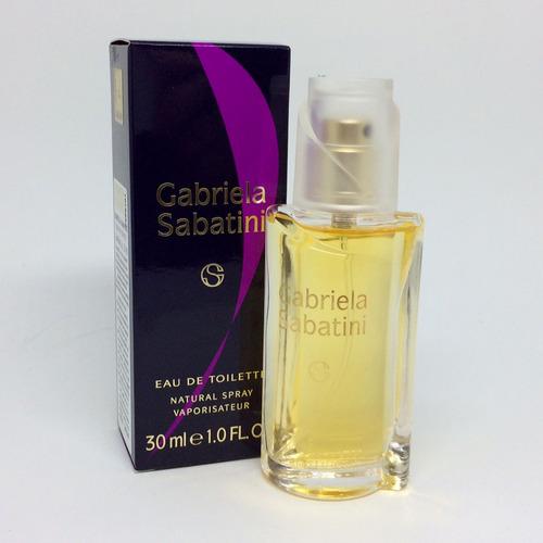 perfume gabriela sabatini 30ml feminino | 100% original