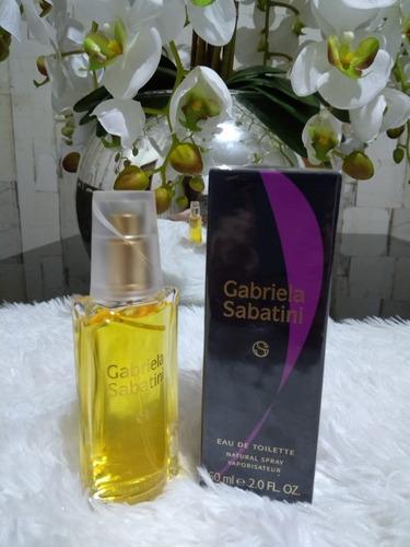 perfume gabriela sabatini 60ml