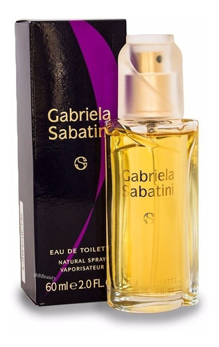 perfume gabriela sabatini 60ml edt feminino