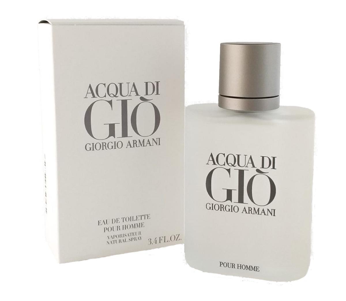 880f2b290 perfume giorgio armani acqua di gio 100ml + brinde amostra. Carregando zoom.