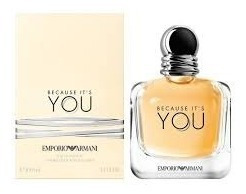 perfume giorgio armani because it´s you edp 100ml women