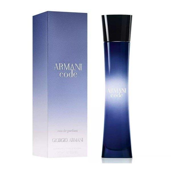 13dcfd88c4f Perfume Giorgio Armani Code Feminino 75ml Edp Oficial - R  369