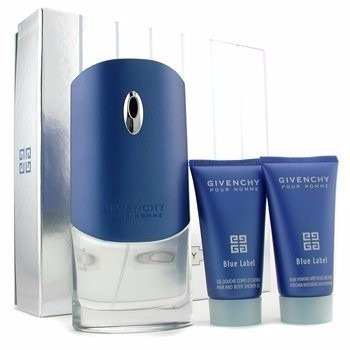 perfume givenchy blue label 100 ml men set x 3