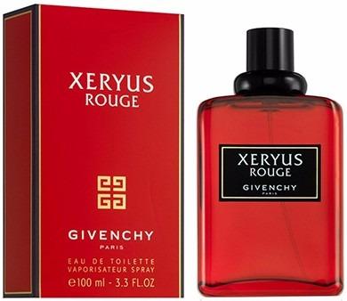 perfume givenchy xeryus rouge original 100 ml envio hoy