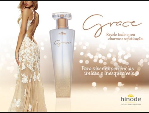 perfume grace - 100% original + um brinde grátis