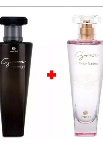 perfume grace midnight+ grace lá rose sublime!!! oferta!!!