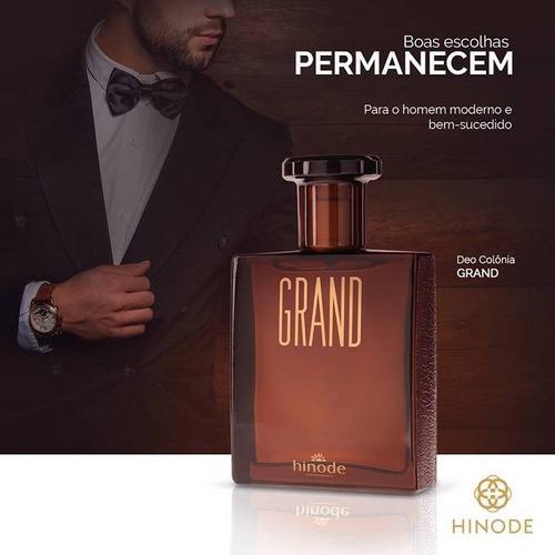 perfume grand e grand noir hinode - 01 fragrância a escolher