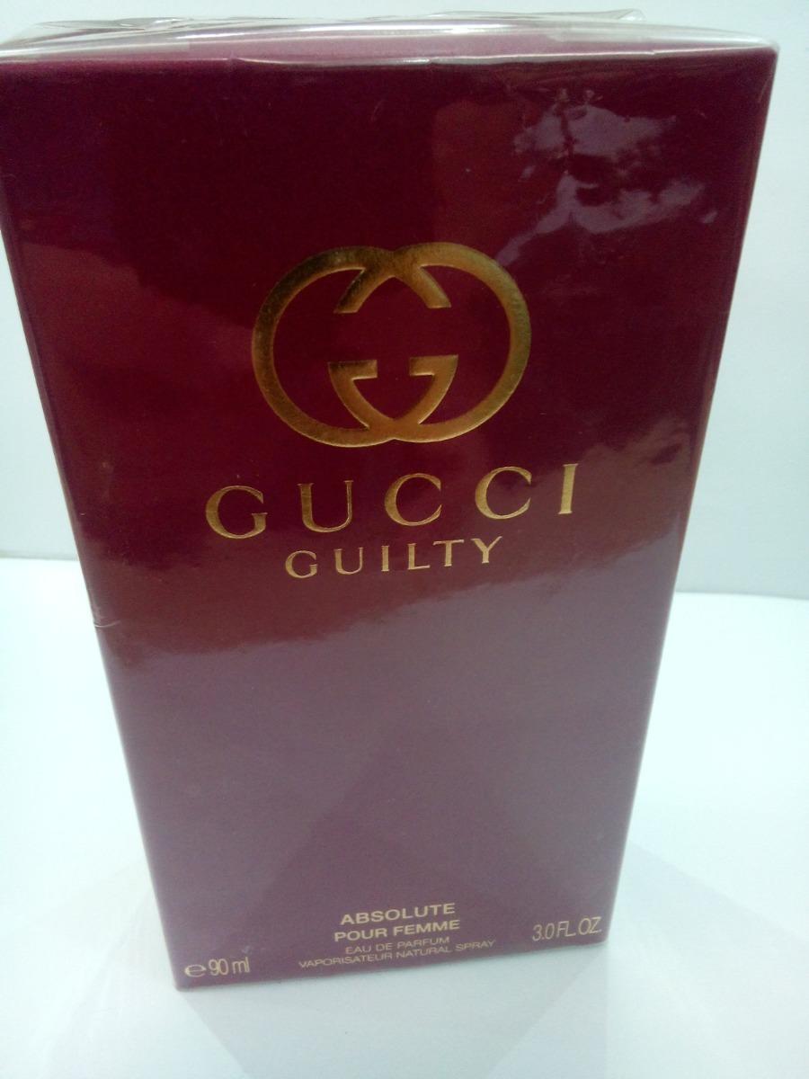 30a8d280dce perfume gucci guilty absolute pour femme 90 ml feminino imp. Carregando  zoom.