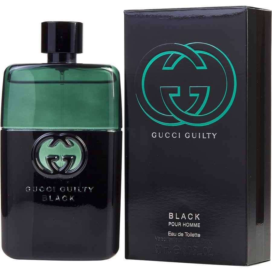 Perfume Gucci Guilty Black 90 Ml - R  250,00 em Mercado Livre 59e2d37193