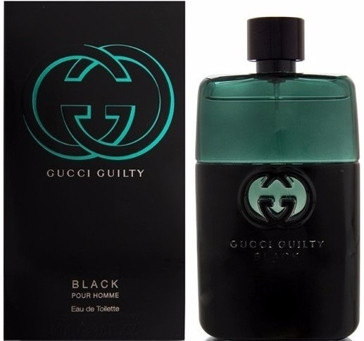 Perfume Gucci Guilty Black Masculino Edt 90ml Original - R  294,99 em  Mercado Livre 183d56baf0