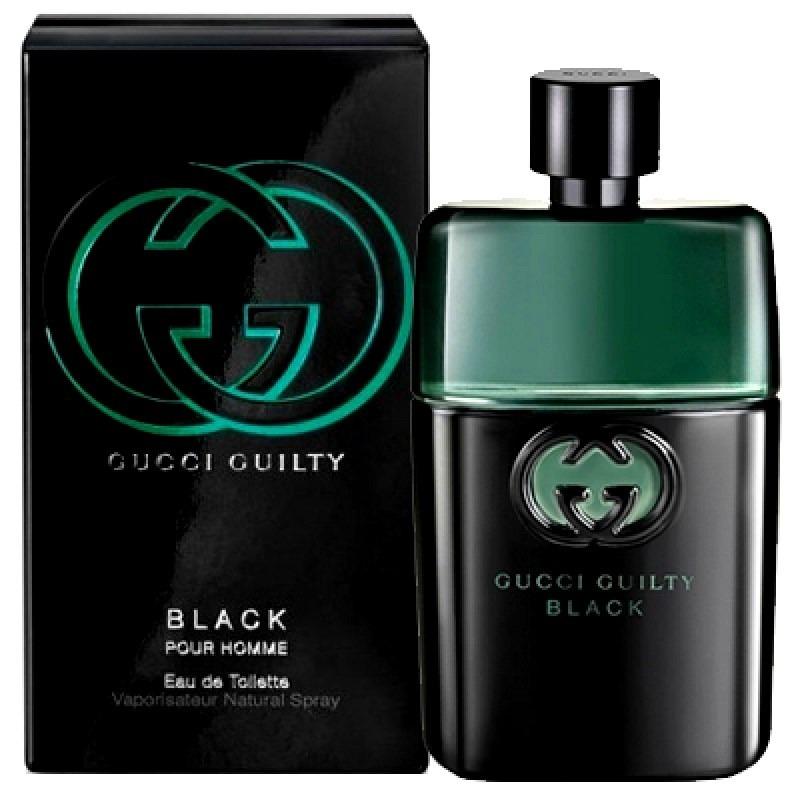 perfume gucci guilty black pour homme 90ml edt 12x s juros! Carregando zoom. 56c90554e7