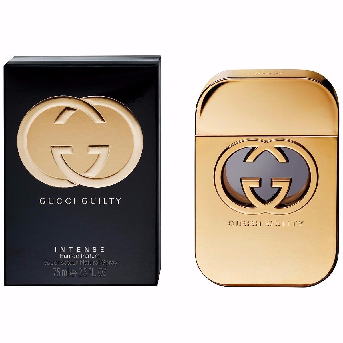 73e8671f5 Perfume Gucci Guilty Intense Feminino Edp 75ml Original - R  379