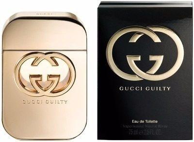 perfume gucci guilty intense original mujer 75 ml
