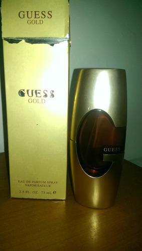 perfume guess gold original