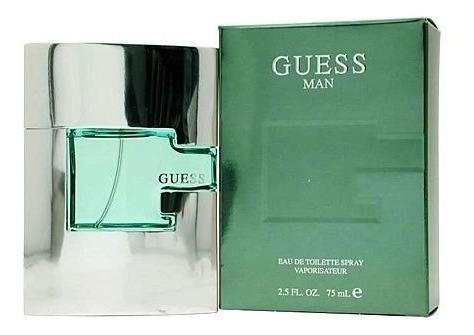 perfume guess man 75 ml hombre
