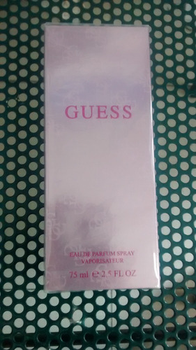 perfume guess pink for woman edp 75 ml, nuevo y sellado