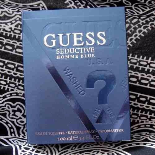 perfume guess seductive homme blue