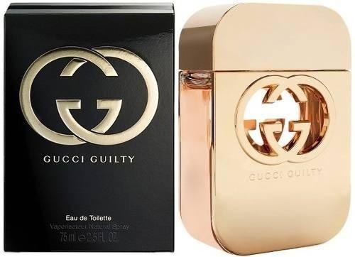 perfume guilty de gucci mujer 75 ml original envío gratis