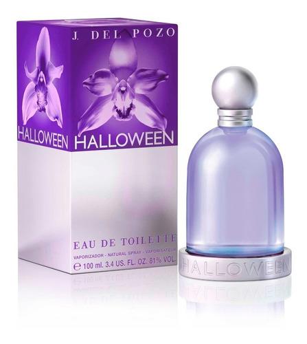 perfume halloween by jesus del pozo muj - ml a $890
