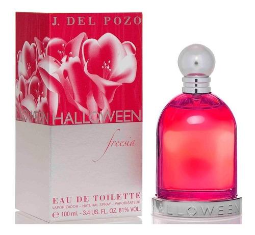 perfume halloween fresia x 100 ml jesus del pozo original !!