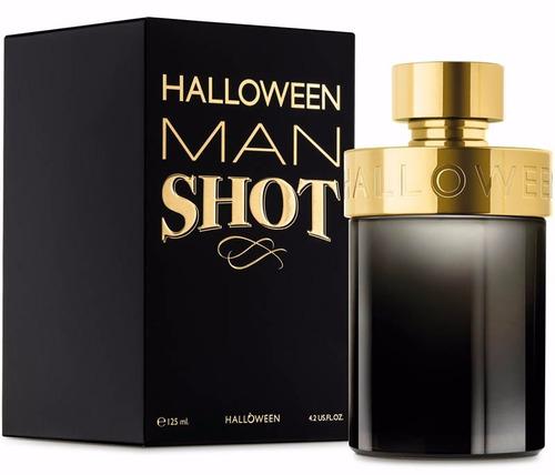 perfume halloween man shot 125 ml original envío hoy