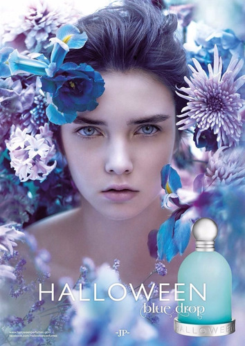 perfume hallowen blue drop 100 ml dama