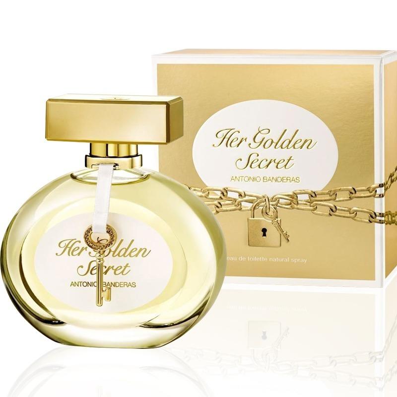 a0ee90074 Perfume Her Golden Secret Fem Edt 80ml - Frete Grátis - R  120