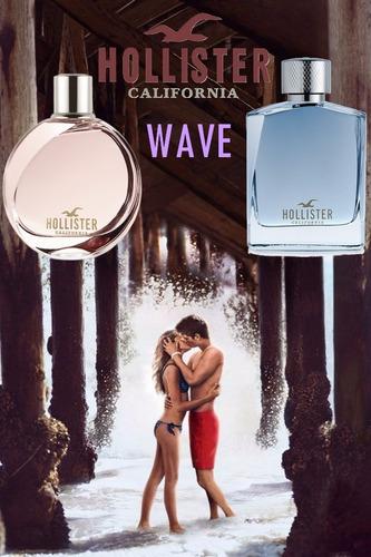 perfume hollister wave her eau de parfum 30 ml selo adipec