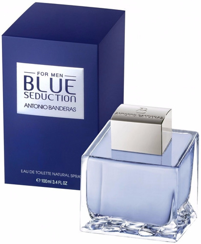 perfume hombre antonio banderas blue seduction edt 100ml