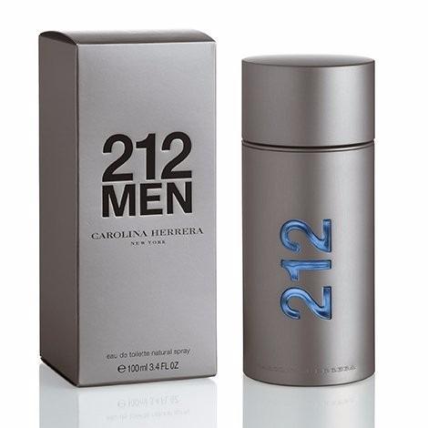 perfume hombre carolina herrera 212 men 100ml