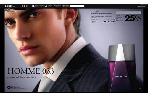 perfume homme 033 100 ml lbel
