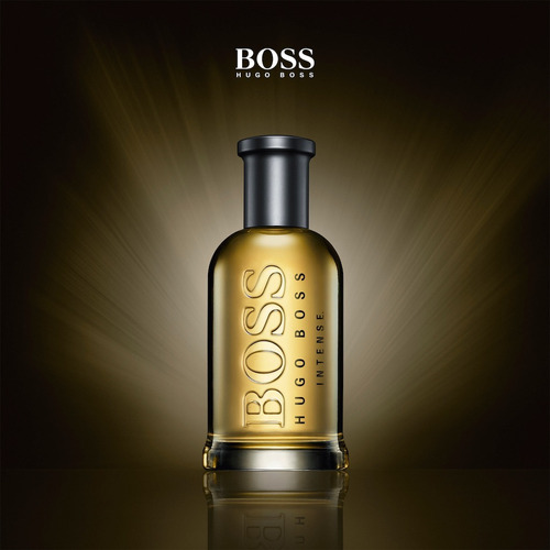 perfume hugo boss botled intense x100ml con celofan original