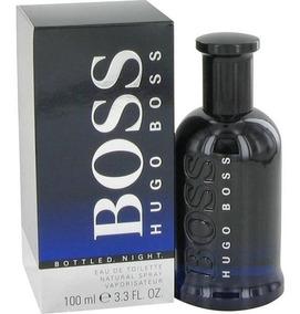 7c1adb56 Perfume Hugo Boss Bottled Night Original Hombre 100 Ml
