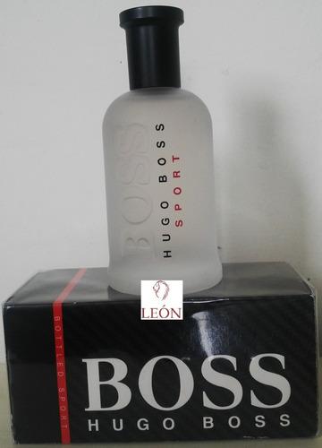 perfume hugo boss bottled sport 100% o - ml a $1190