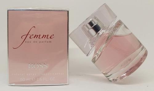 perfume hugo boss femme femenino edp 50 ml original