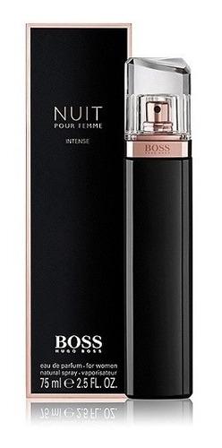 perfume hugo boss nuit intense 75ml dama