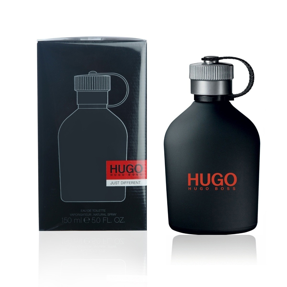 perfume hugo just different hugo boss caballero 150ml kuma en mercado libre. Black Bedroom Furniture Sets. Home Design Ideas