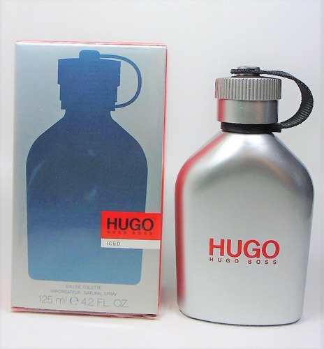 perfume hugo hugo boss iced for men 125 ml - original
