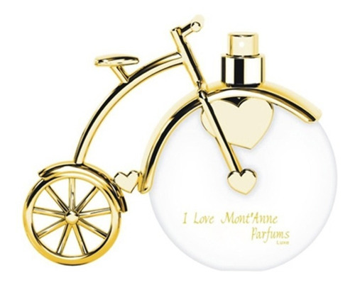 perfume i love mont'anne edp luxe 100ml bicicleta lacrado nf