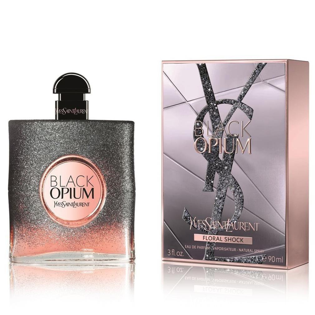 Perfume Black Opium Floral Shock Orig Import Mujer Edp 50ml Parfum Cargando Zoom